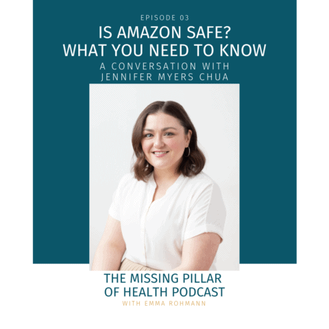 Ep03 Is Amazon Safe Cover Image with Jennifer Chua headshot