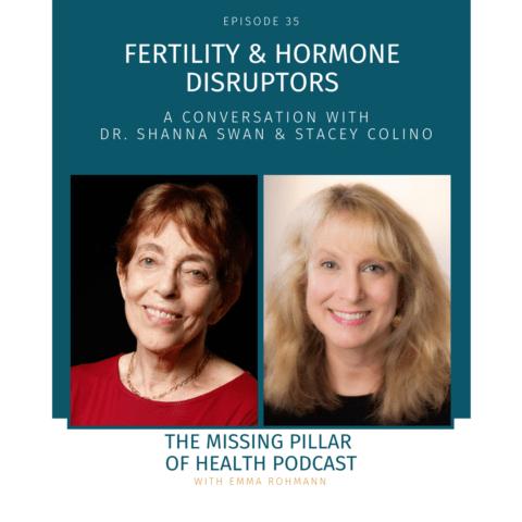 Ep35.Cover Art Fertility & Hormone Disruptors